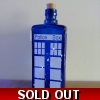 Blue Glass Tardis Polic..