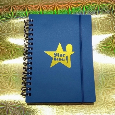 Star Baker notebooks title=