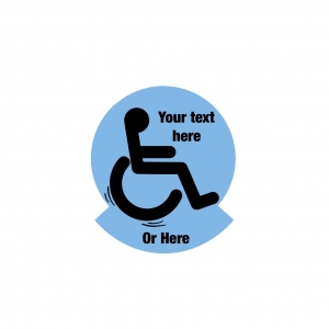 Custom Text Disability ..