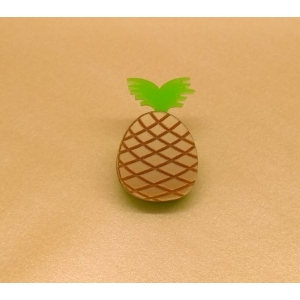 Gold Tropical Pineapple Pin