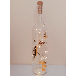 Gold fairy light lamp lantern large ni..