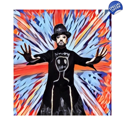 LTD EDT Boy George Giclee Art print title=