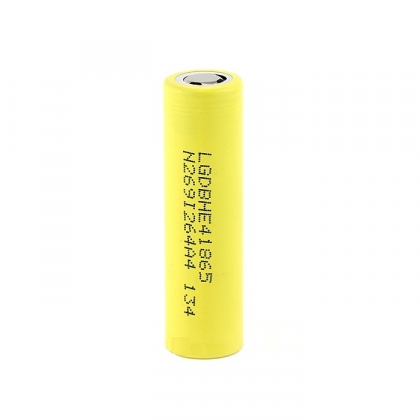 LG HE4 18650 2500mah 3.7v Battery - Free case with purchases of 2 or more