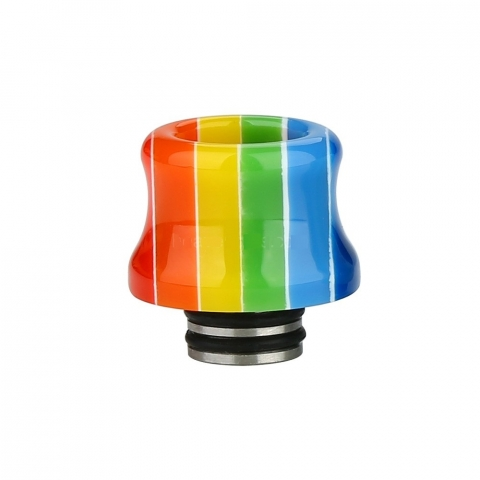510 Resin Stainless Steel Drip Tip