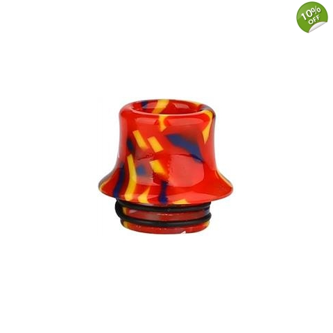 810 Resin Curved Drip Tip