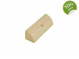 Short Quarter Round Wooden Brick