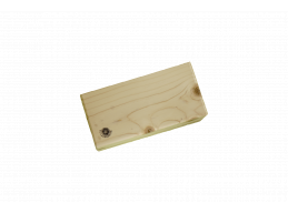 Wooden Block - REGULAR - varnished
