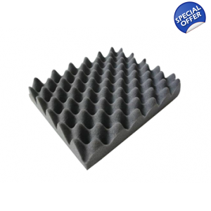 Flame Retardant Studio Foam 30mm 9m2 Profiled Eg..