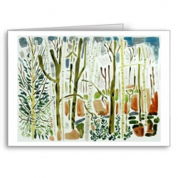 Winter Woods - card