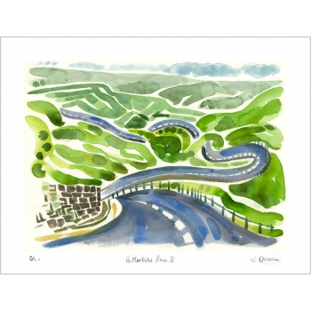Buttertubs Pass - print