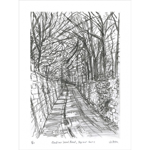Gledhow Wood Road - print