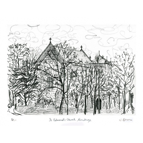 St Edmund's Church, Roundhay - print