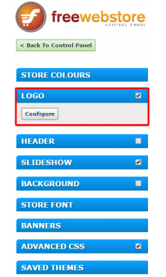 Logo: Theme Editor