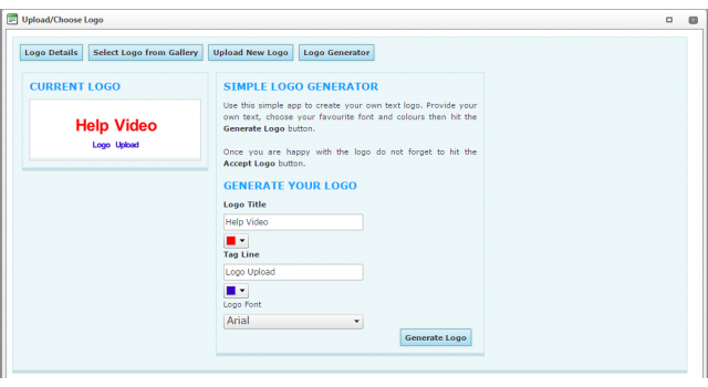 Logo Generator: Edit