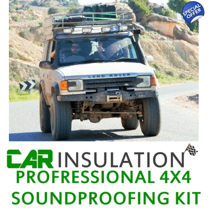 4x4 Soundproofing Kit Large 4x4 Soundproofing Kit Exc Eng Bay LRG SUV