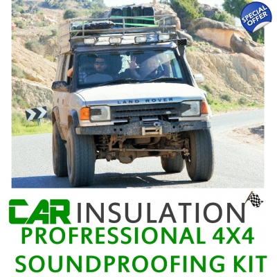 4x4 Soundproofing Kit-Large 4x4 Soundproofing Kit Inc Eng Bay LRG SUV