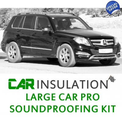 Car Soundproofing Kit - Large Car Exc Eng Bay Soundproofing Kit