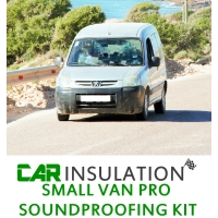 Van Soundproofing Kit - Small Van Soundproofing Kit Exc Eng Bay