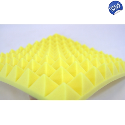 Yellow Car Insulation Foam 5..