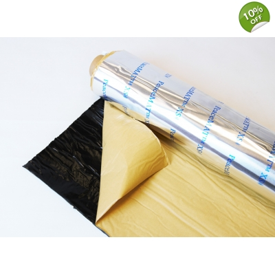 3.2m Roll of PeaceMAT™ XS Flexible Alu Butyl Panel Dampening Deadener