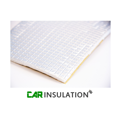 4 Sheets Engine Bay Sound Insulation Foil Vehicle Firewall Insulation