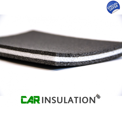 Tri-Laminate High Performance 11mm Car Van Sound Insulation