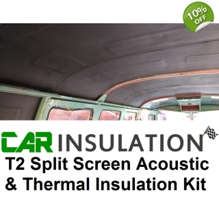 VW T2 Split Screen Sound Proofing Dead..