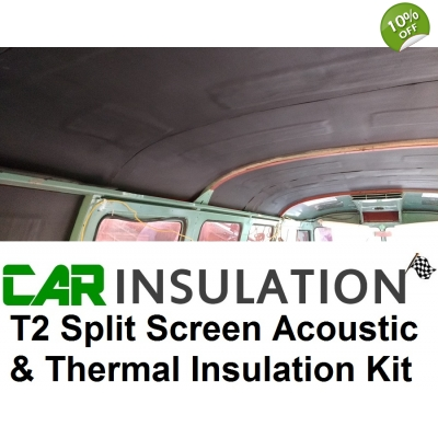 VW T2 Split Screen Sound Proofing Deadening Thermal Insula..
