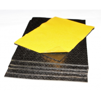 20 Large Sheets BitFLEX 2.8kg Self Adhesive Flexible Bitum..