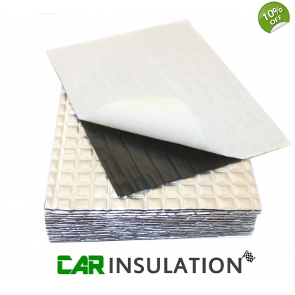 20 Large Sheets PeaceMAT XR Sound Deadening Material Panel