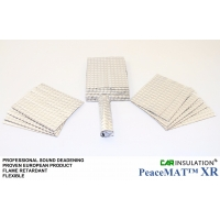 4m Roll of PeaceMAT™ XR Car Sound Deadening Alu Butyl Insulation