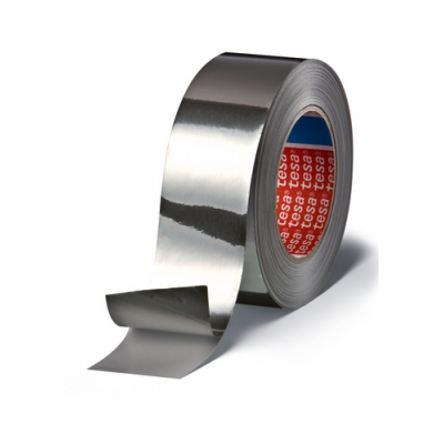 TESA 50525 Conformable Heat Reflective Aluminium Tape 50mm x 50m