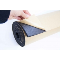 1m2 6mm Adhesive Backed Closed Cell Foam Sound Proofing Insulation