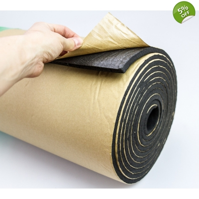 10m BULK Roll 10mm Black Clo..