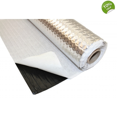 4 Roll Pack Car Sound Deadening Trade Bulk 4mx0.5m PeacMAT..