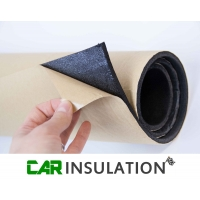 5m Roll 6mm Car Sound Proofing Self Adhesive Closed Cell Foam