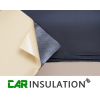 8 Sheets 3mm Car Sound Deadening Foam Compressible Auto Sealing