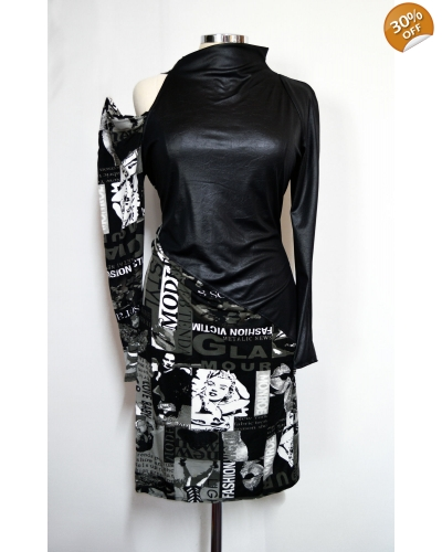 "Printed dress ""Movie"""