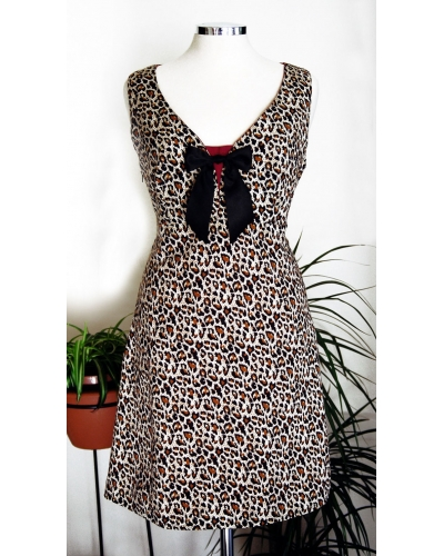 "Printed dress ""Fashion 60's"""