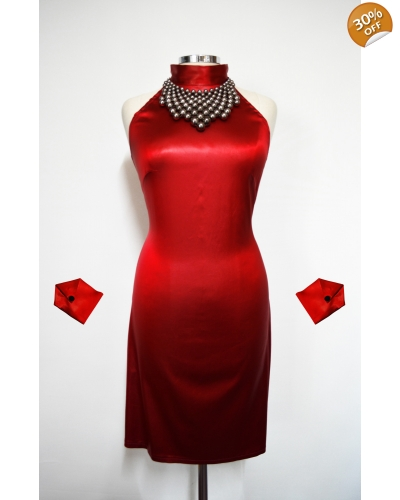 """Glamour"" Red dress"
