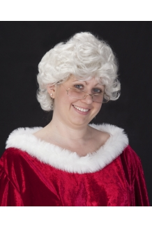 Halco Short N Nasty Mrs Claus Wig