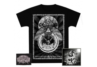 FULL BLACK PACK : CD Digipack + POST ECSTATIC EXPERIENCE T-SHIRT BLACK + EMBROIDERED PATCH
