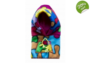 Multi Fleece hoody
