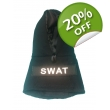 Black SWAT Fleece hoody