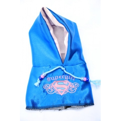 Supergirl blue hoody