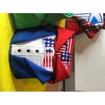 American Flag Hooded Tu..