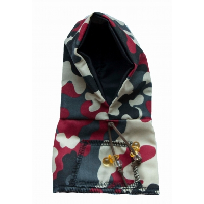 Army cam red hoody