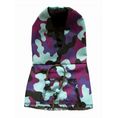 Army cam purple hoody