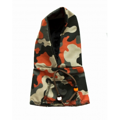 Army cam orange hoody