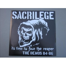 Sacrilege UK - It's Time to Face the Reaper - DLP